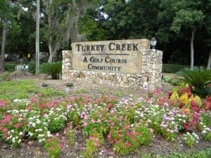 Turkey Creek Community Entrance