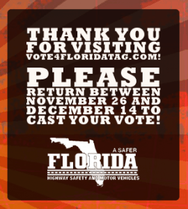 Vote4Tag - Florida