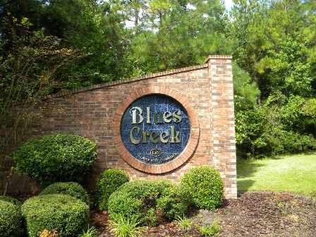 Blues Creek Entrance