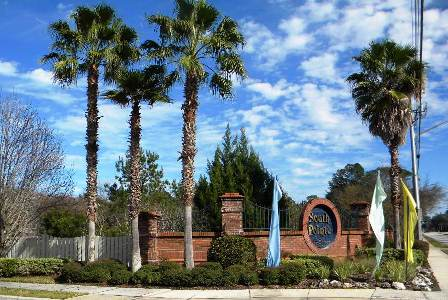 South Pointe Subdivision Entrance in Gainesville FL