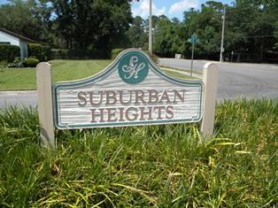 Suburban Heights Neighborhood in Gainesville FL