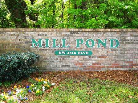 Mill Pond & Monticello Communities in Gainesville FL