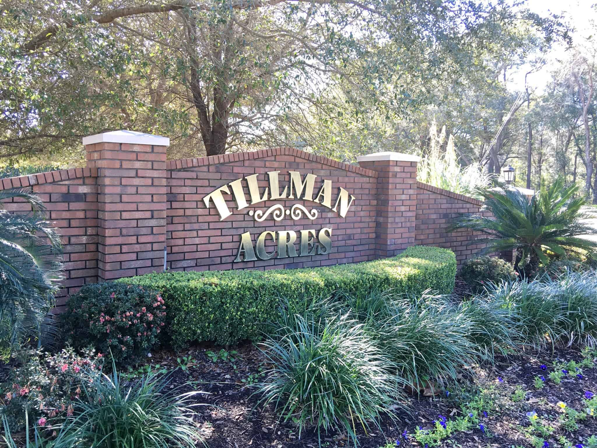 Tillman Acres in High Springs FL
