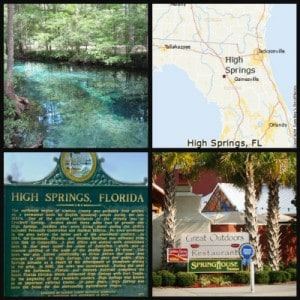 High Springs Community in Alachua County FL