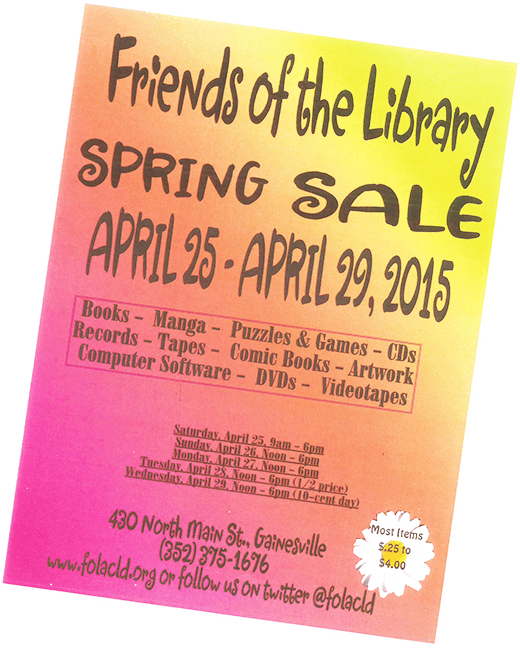 Friends of the Library Book Sale