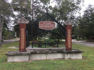 Duck Pond neighborhood in NE Gainesville
