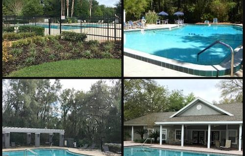 Gainesville Subdivisions with Community Pool