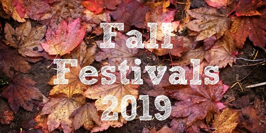 Fall Festivals 2019