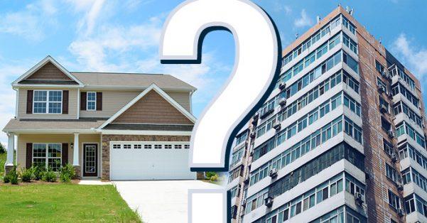 Condos v. Single Family Homes
